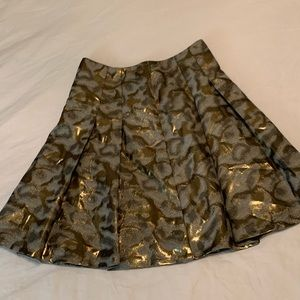 Pleated The Limited skirt